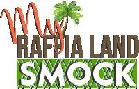 My Raffia Land Smock